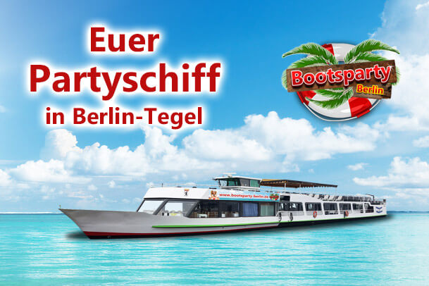 Partyschiff in Tegel