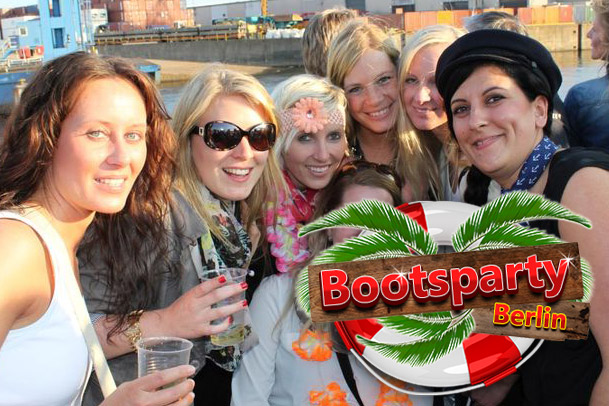 Junggesellinnenabschied Bootsparty